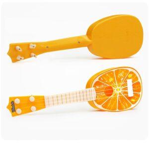 ukulélé en forme d'orange