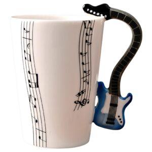 tasse guitare bleu