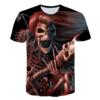T-shirt Squelette qui sait tenir une guitare